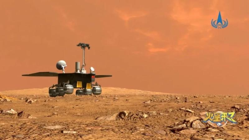China hace historia: misión Tianwen-1 posa un vehículo sobre Marte