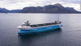 Así es el Yara Birkeland, el barco carguero eléctrico que no necesitará tripulación
