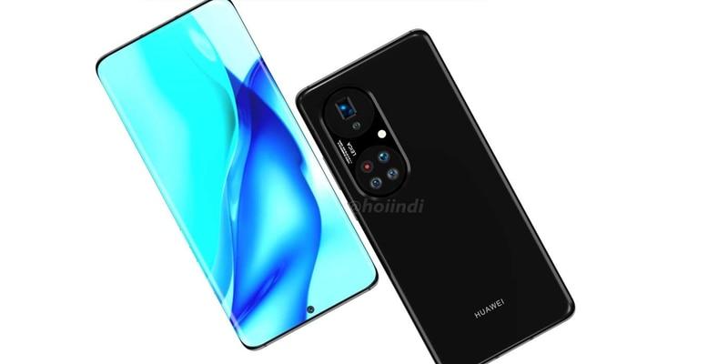 Se filtra un nuevo e inexplicable rénder del Huawei P50 Pro+. Pero su módulo de cámara trasera es francamente extraño por su distribución.