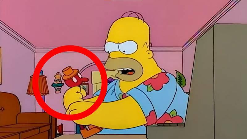 Los Simpson pájaro Home Office