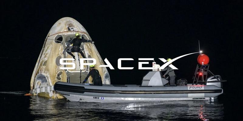 NASA y SpaceX hacen historia: regresan astronautas con una maniobra de hace medio siglo