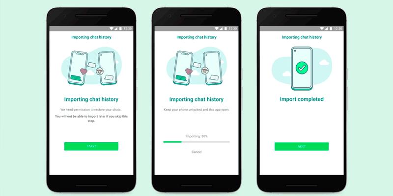 WhatsApp facilita la transferencia de chats a tu Samsung desde tu iPhone con Smart Switch