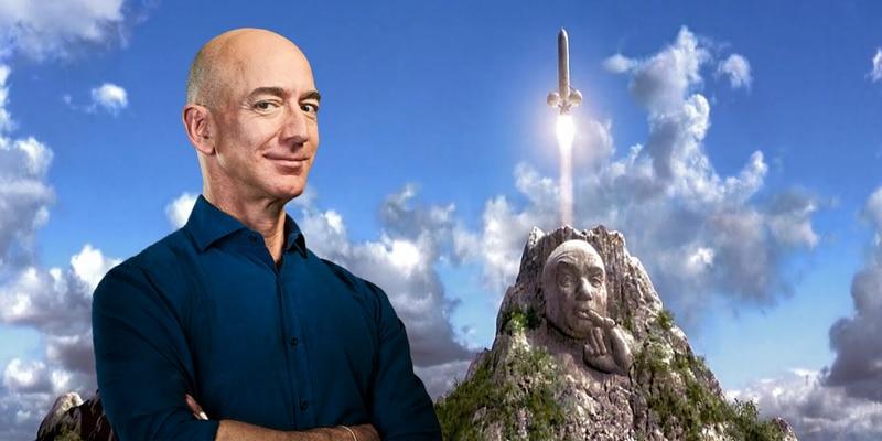 Jeff Bezos es comparado con el Dr. Evil de Austin Powers por su cohete
