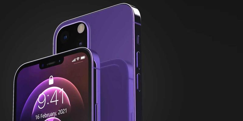 iPhone 13 morado se muestra en fotos reales