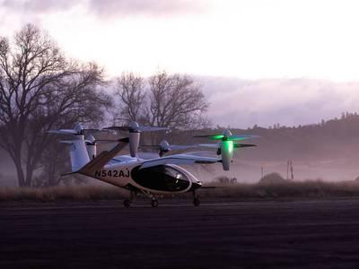 """La NASA publica las primeras imágenes de las pruebas de su proyecto de """"taxi volador"""""""