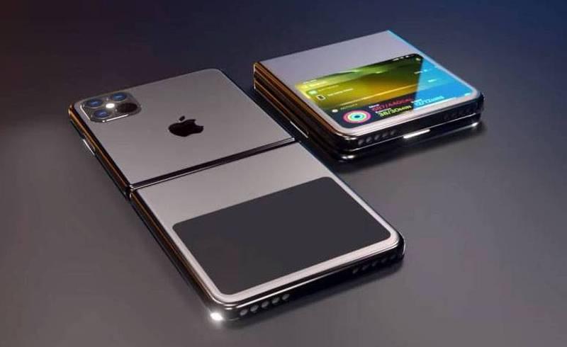 iPhone plegable flexible