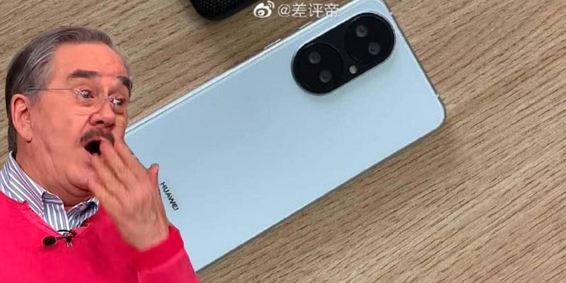 Huawei P50 se muestra en fotos reales y la cámara es muy peculiar
