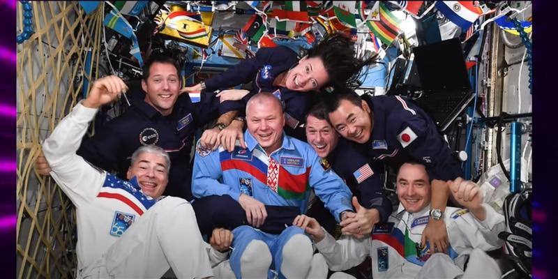 Tokio 2020: astronautas organizan Olimpiadas Espaciales en la ISS