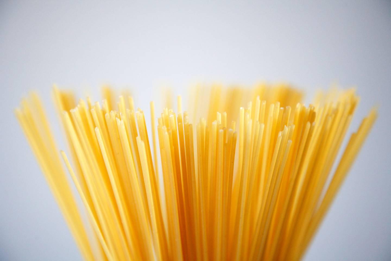 Los espaguetis son uno de los principales carbohidratos de consumo regular.