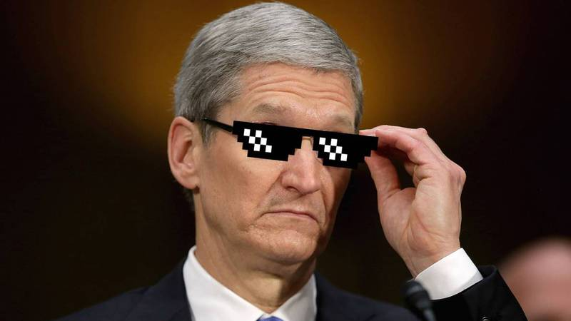 Android tim cook