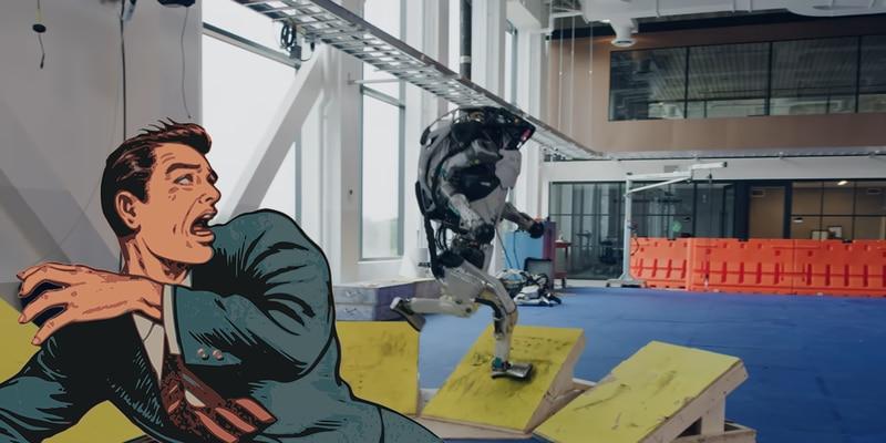 Video: robot Atlas de Boston Dynamics ya hace parkour y da mucho miedo