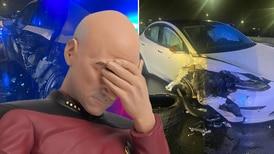 Tesla con Autopilot encendido se estrella contra patrulla de la policía